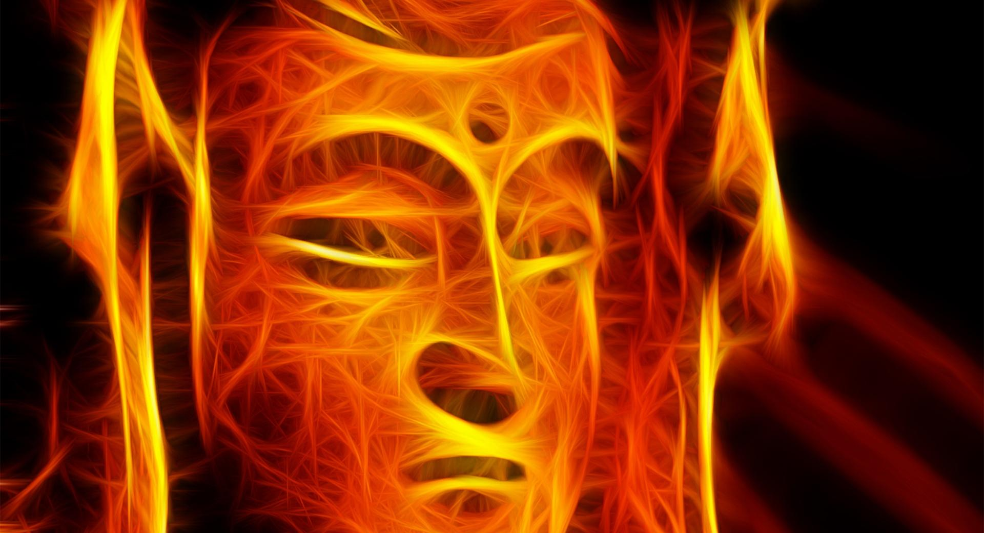 Burning Warrior wallpapers HD quality