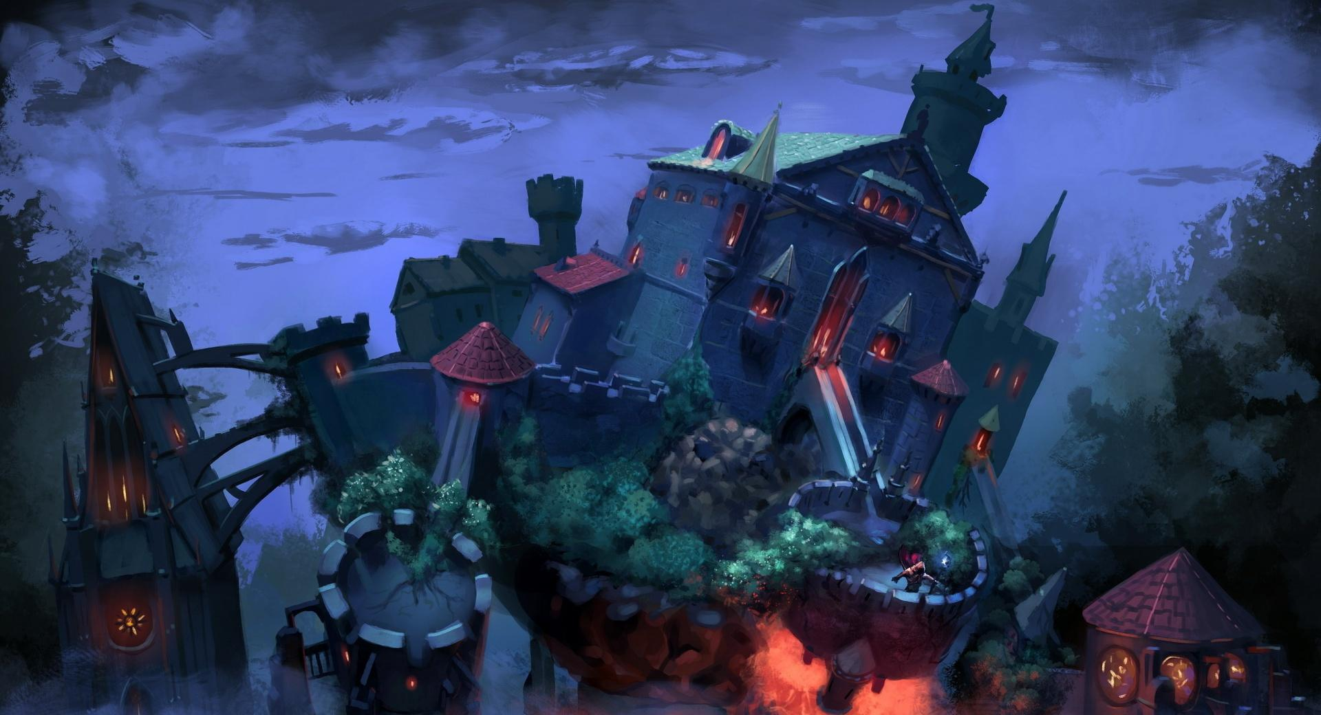 Fantasy Art Castle wallpapers HD quality