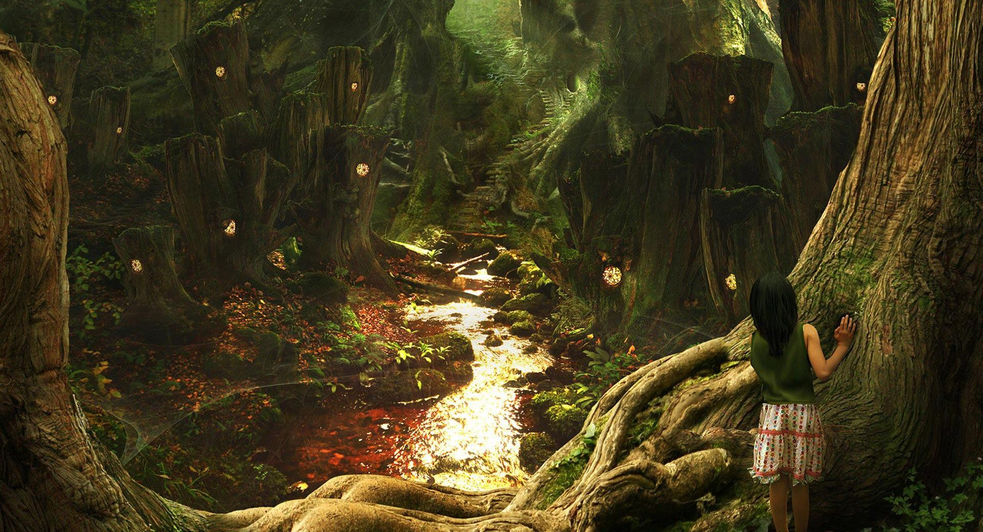 Fantasy Art Scenery by Phil McDarby wallpapers HD quality