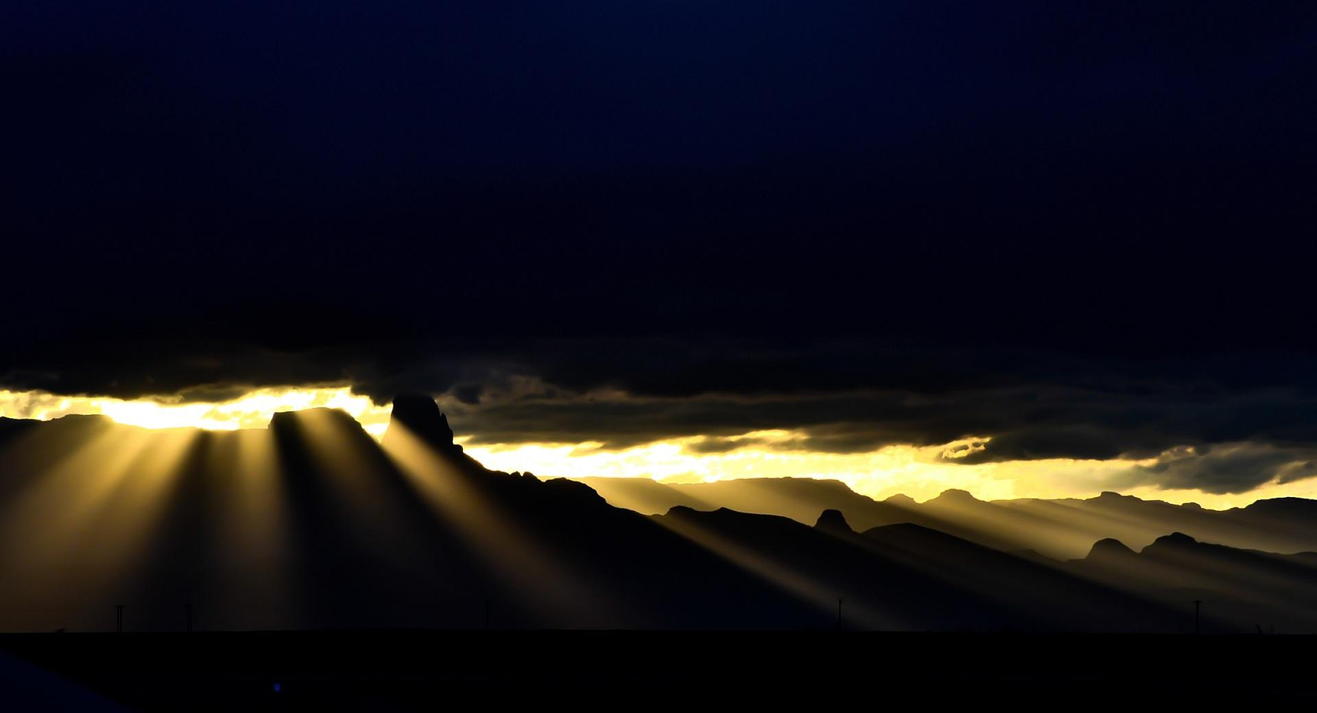 Golden Rays wallpapers HD quality