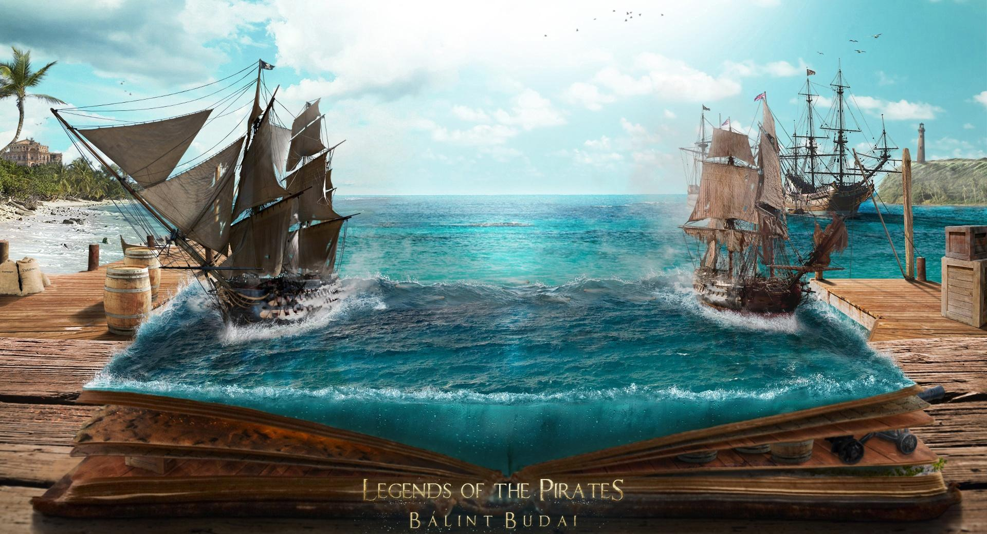 Legends of the Pirates at 1334 x 750 iPhone 7 size wallpapers HD quality