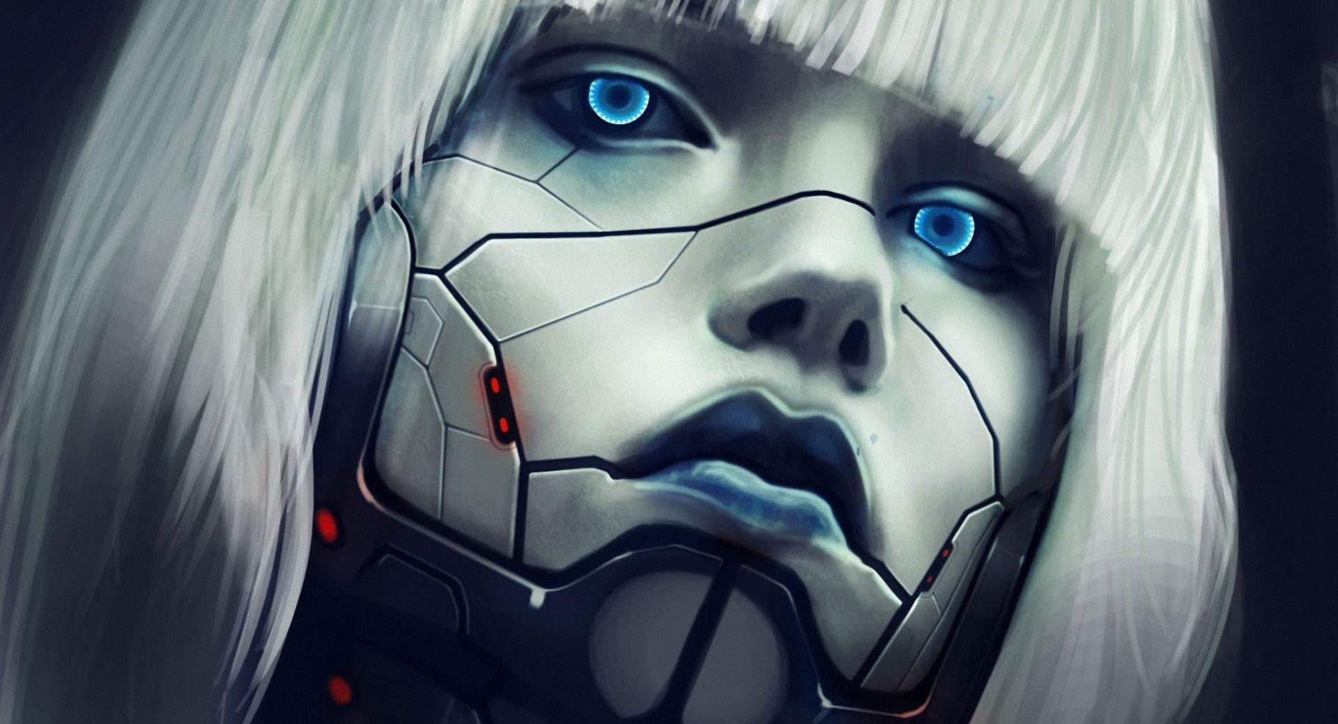 Robot Face wallpapers HD quality