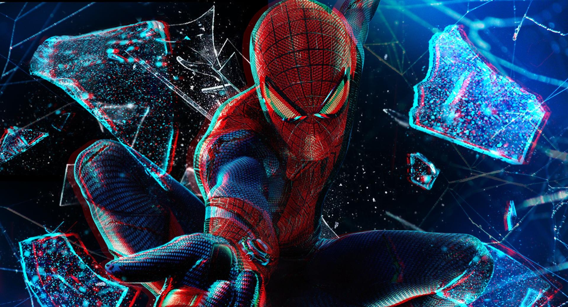 The Amazing Spider-Man 3D wallpapers HD quality