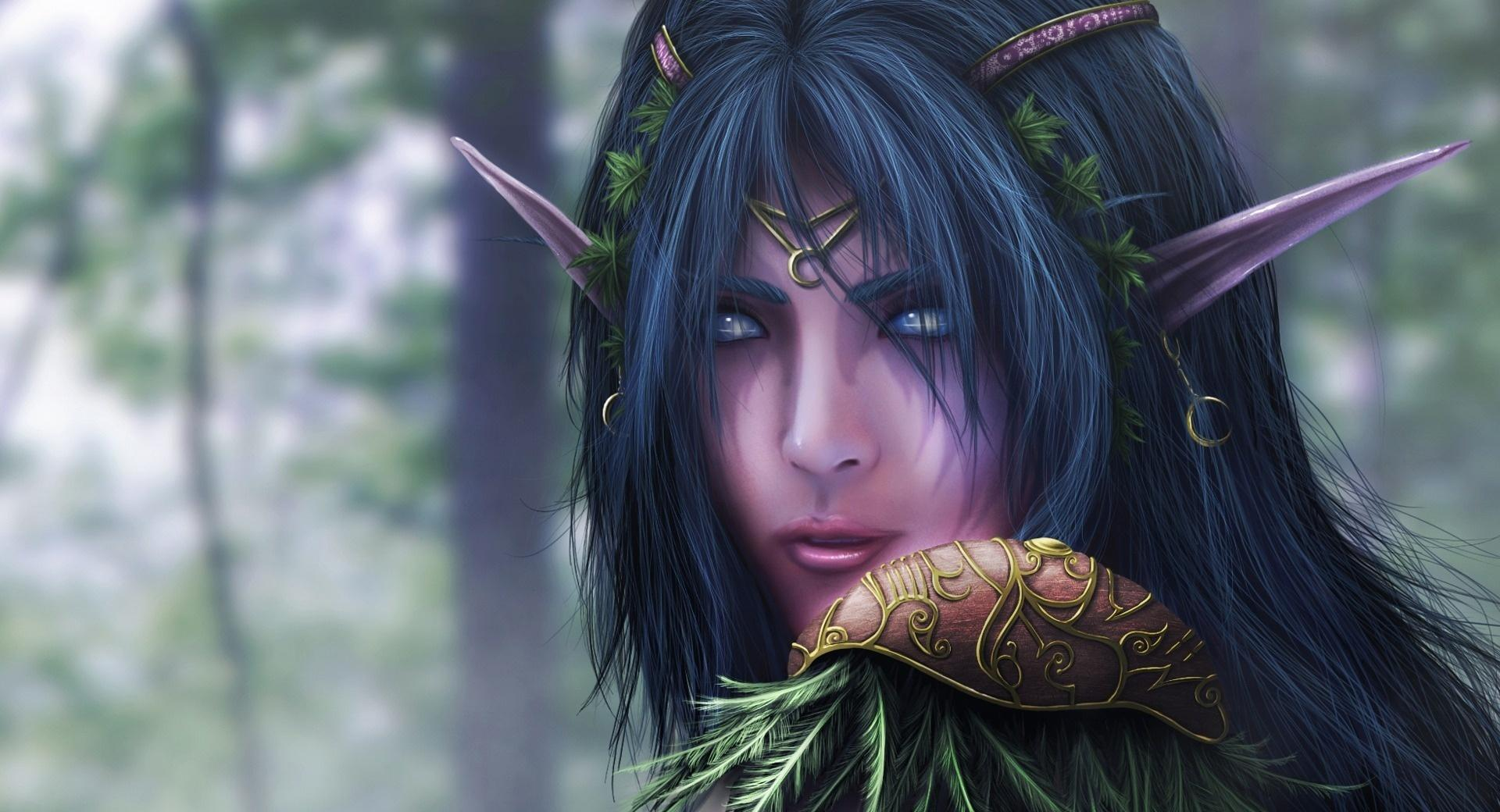 World Of Warcraft Elf wallpapers HD quality