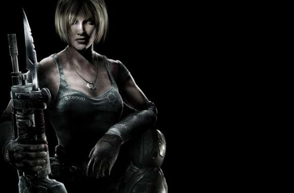 Gears Of War 3 Anya Stroud wallpapers hd quality