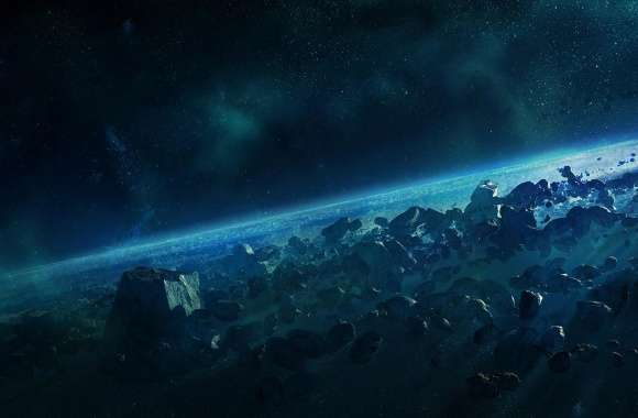 Halo Reach, Asteroid wallpapers hd quality