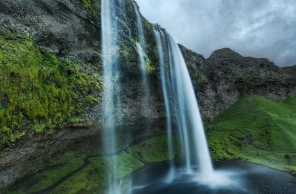 Iceland Waterfall wallpapers hd quality