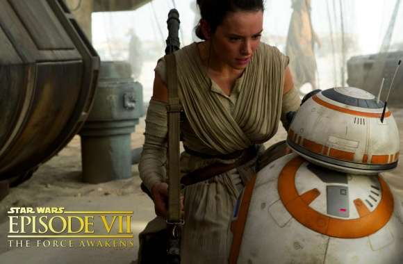 Star Wars Episode VIII - Rey and BB-8
