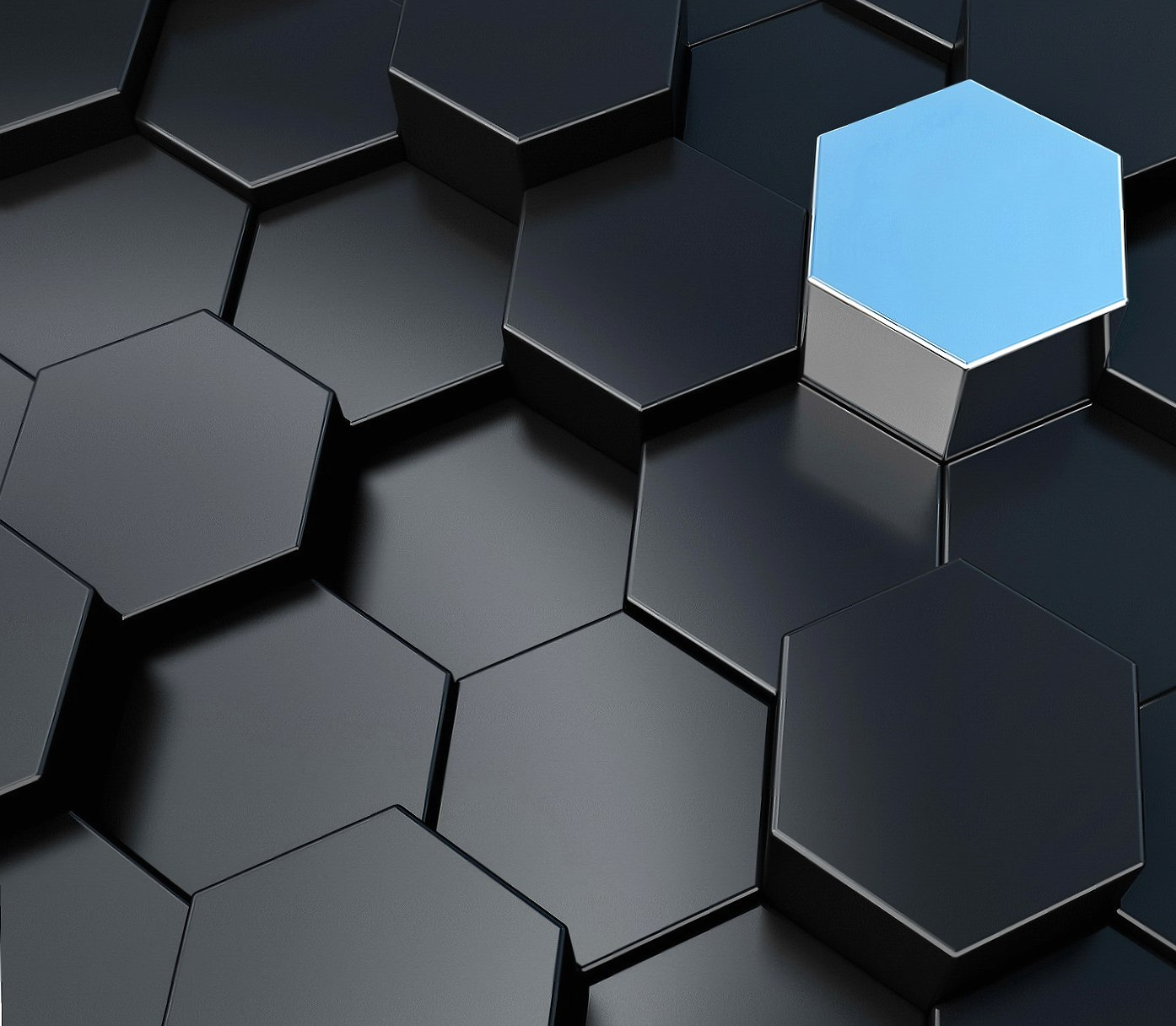 3D Hexagons wallpapers HD quality