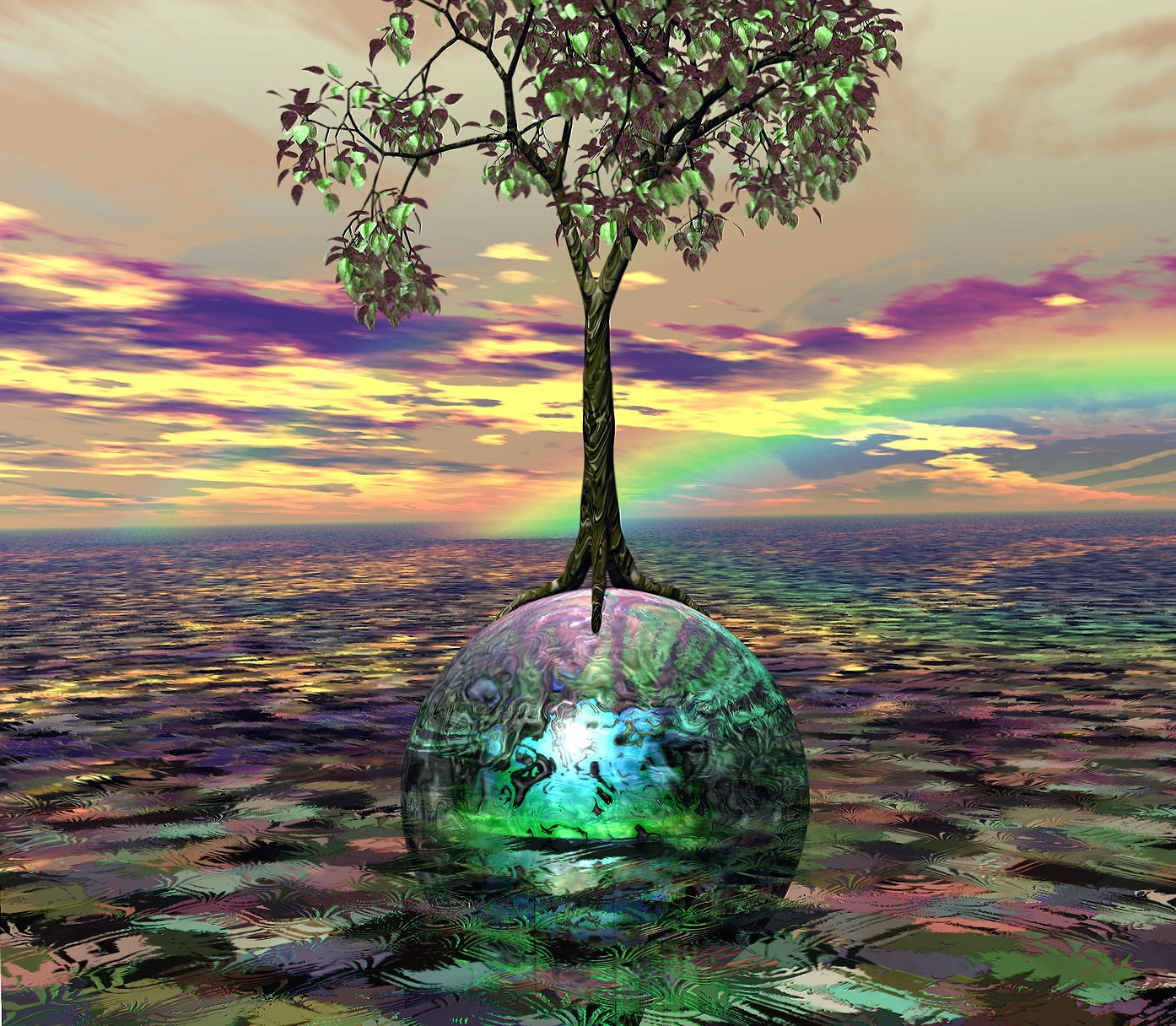 Acid Tree wallpapers HD quality