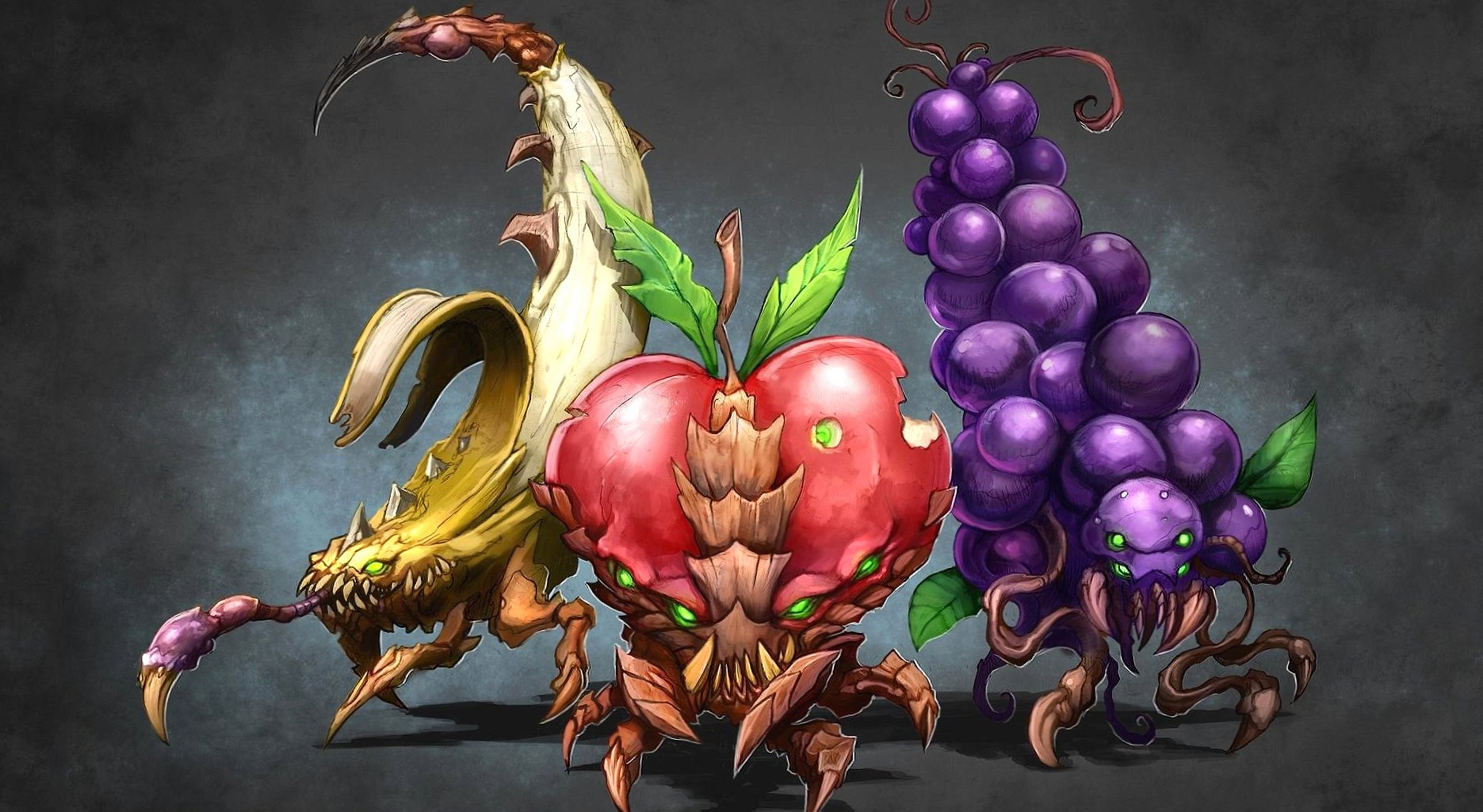 Alien fruits wallpapers HD quality