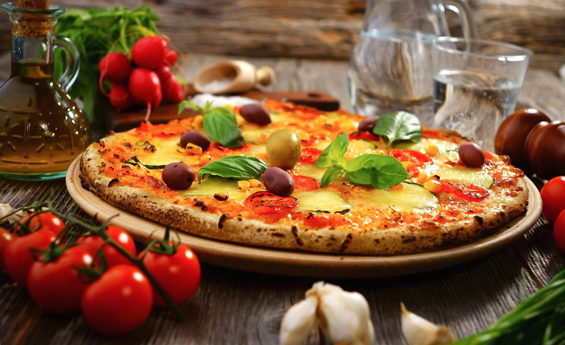 Amazing pizza wallpapers HD quality