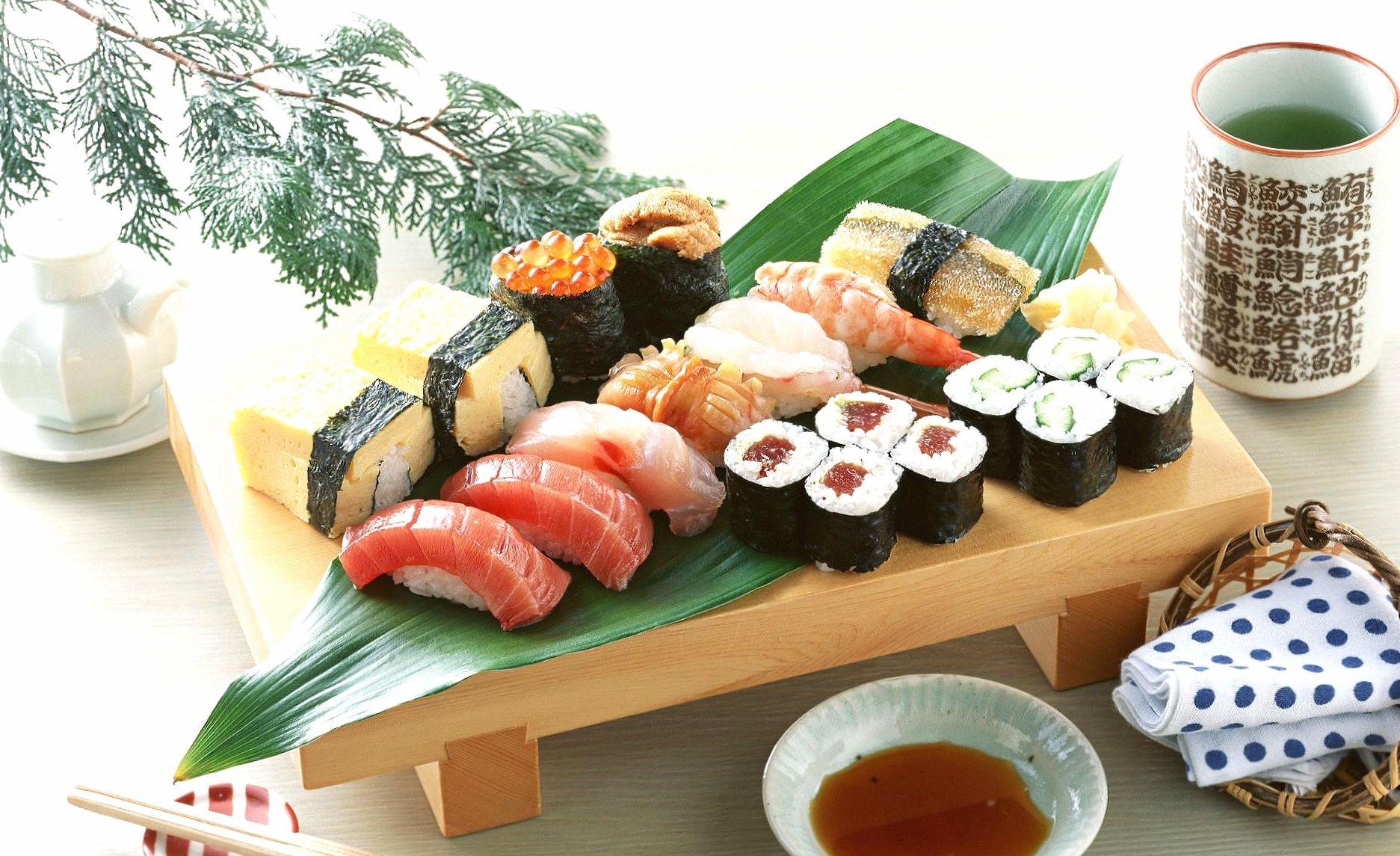 Amazing sushi wallpapers HD quality