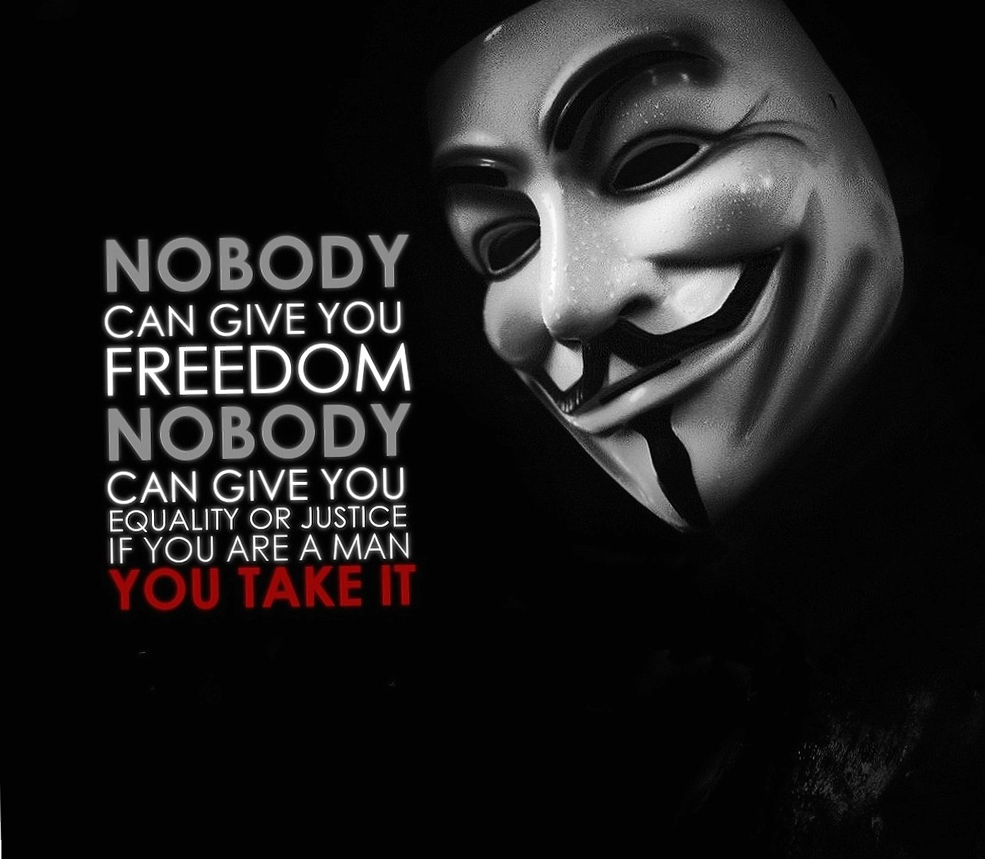 Anonymous Quote wallpapers HD quality