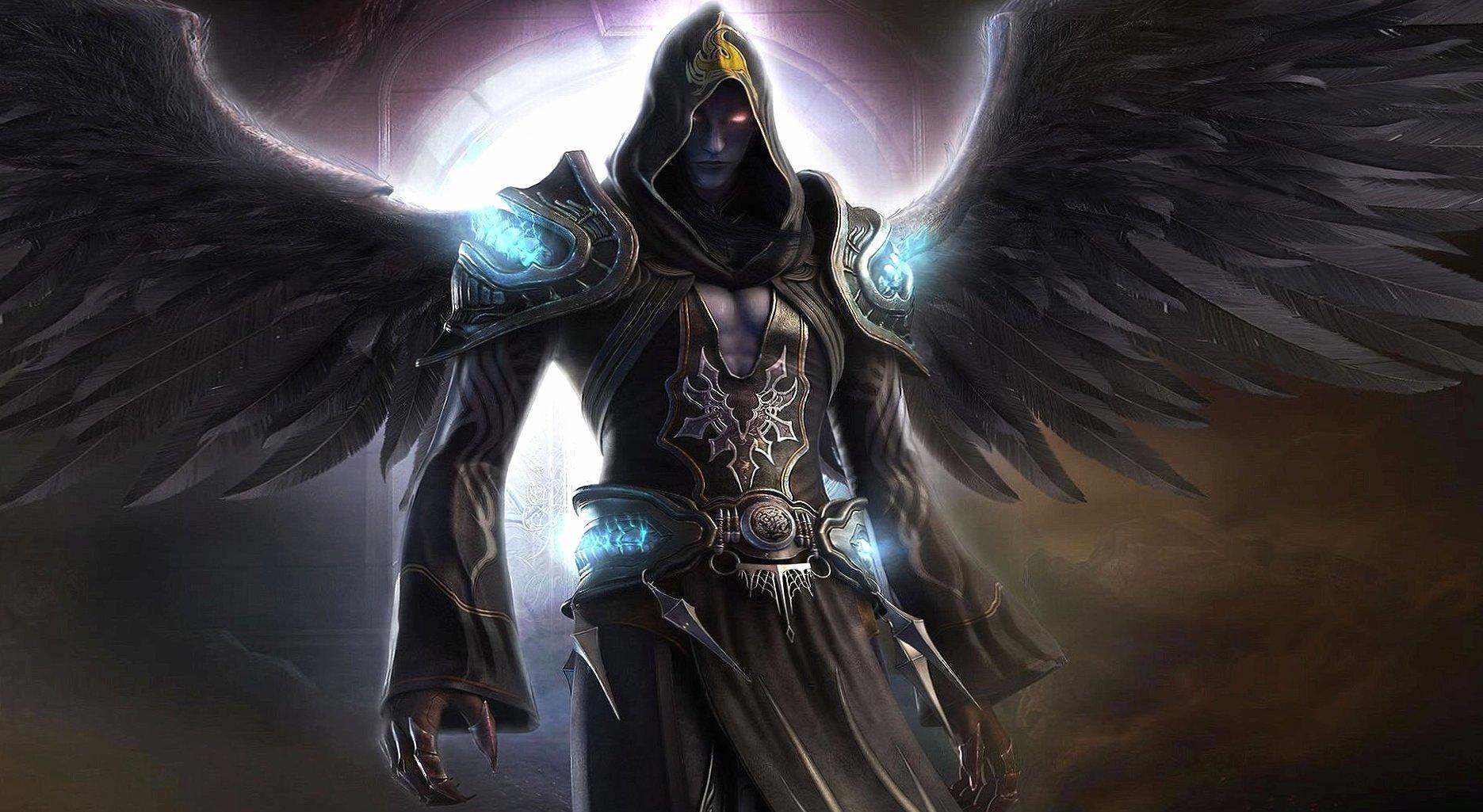 Black angel dark wallpapers HD quality