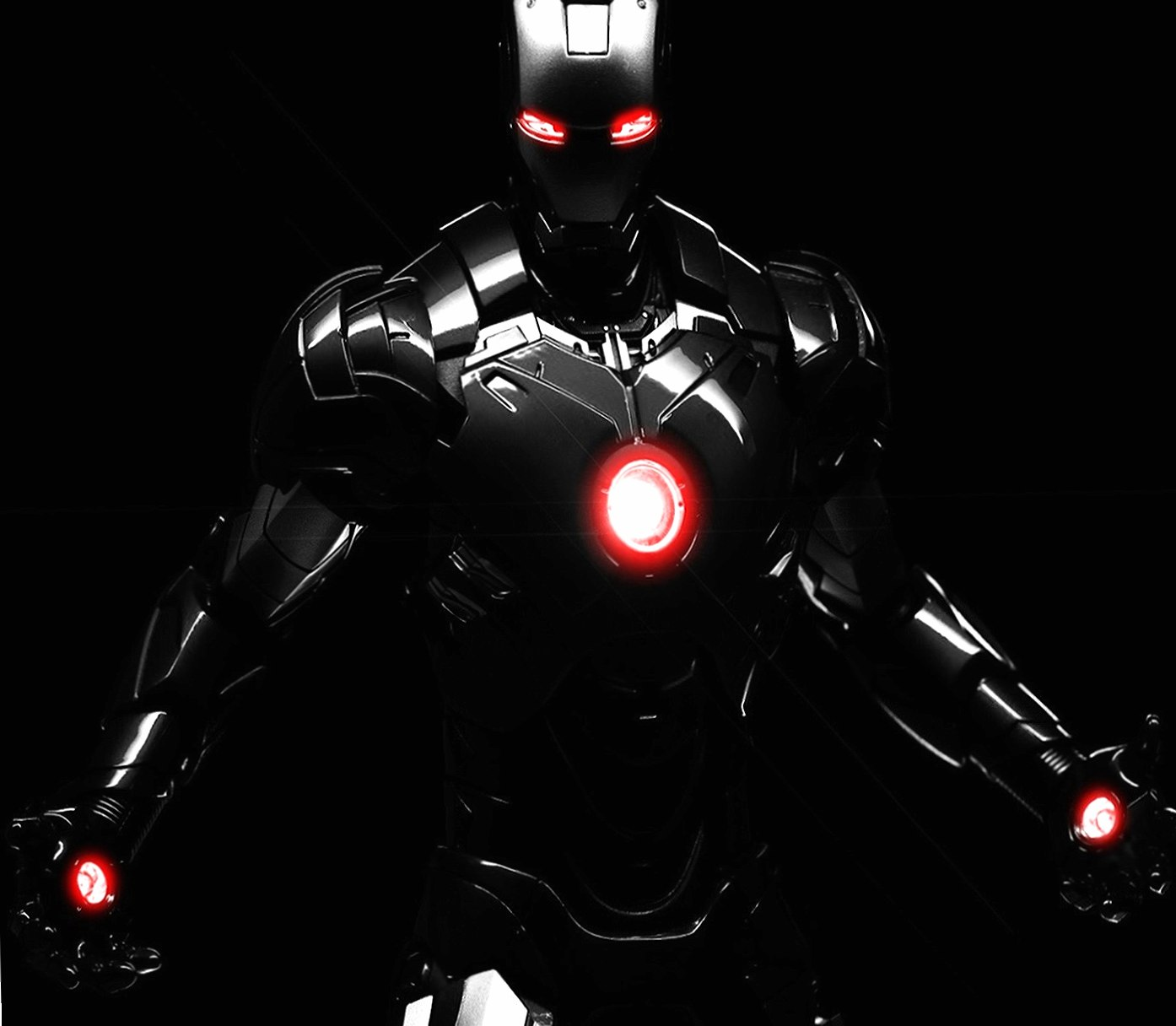 Black Iron Man wallpapers HD quality