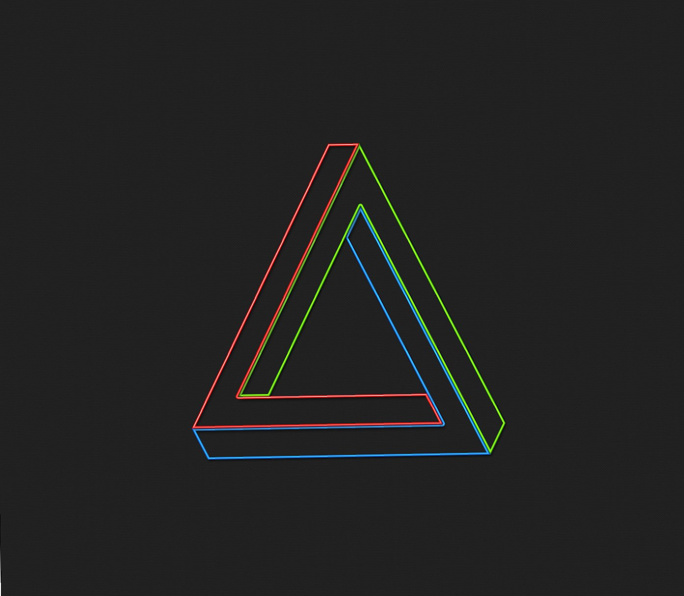 Color triangle wallpapers HD quality