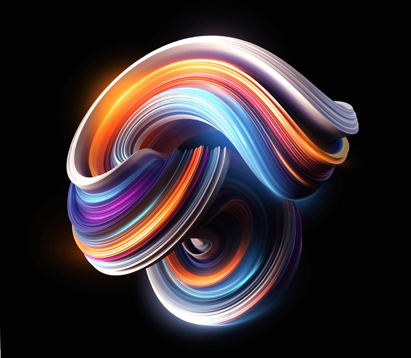 Colorfull curves wallpapers HD quality