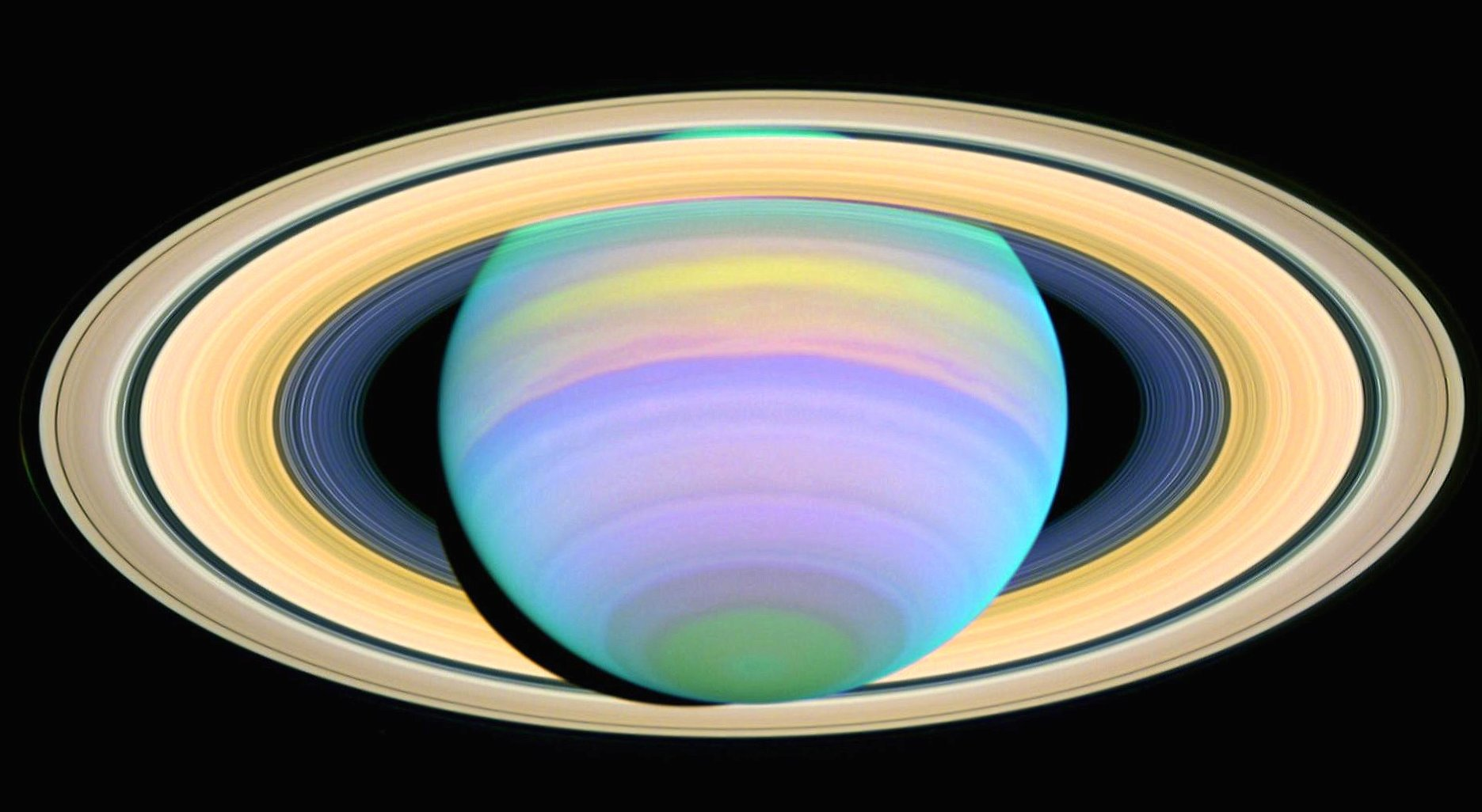 Colorfull saturn wallpapers HD quality