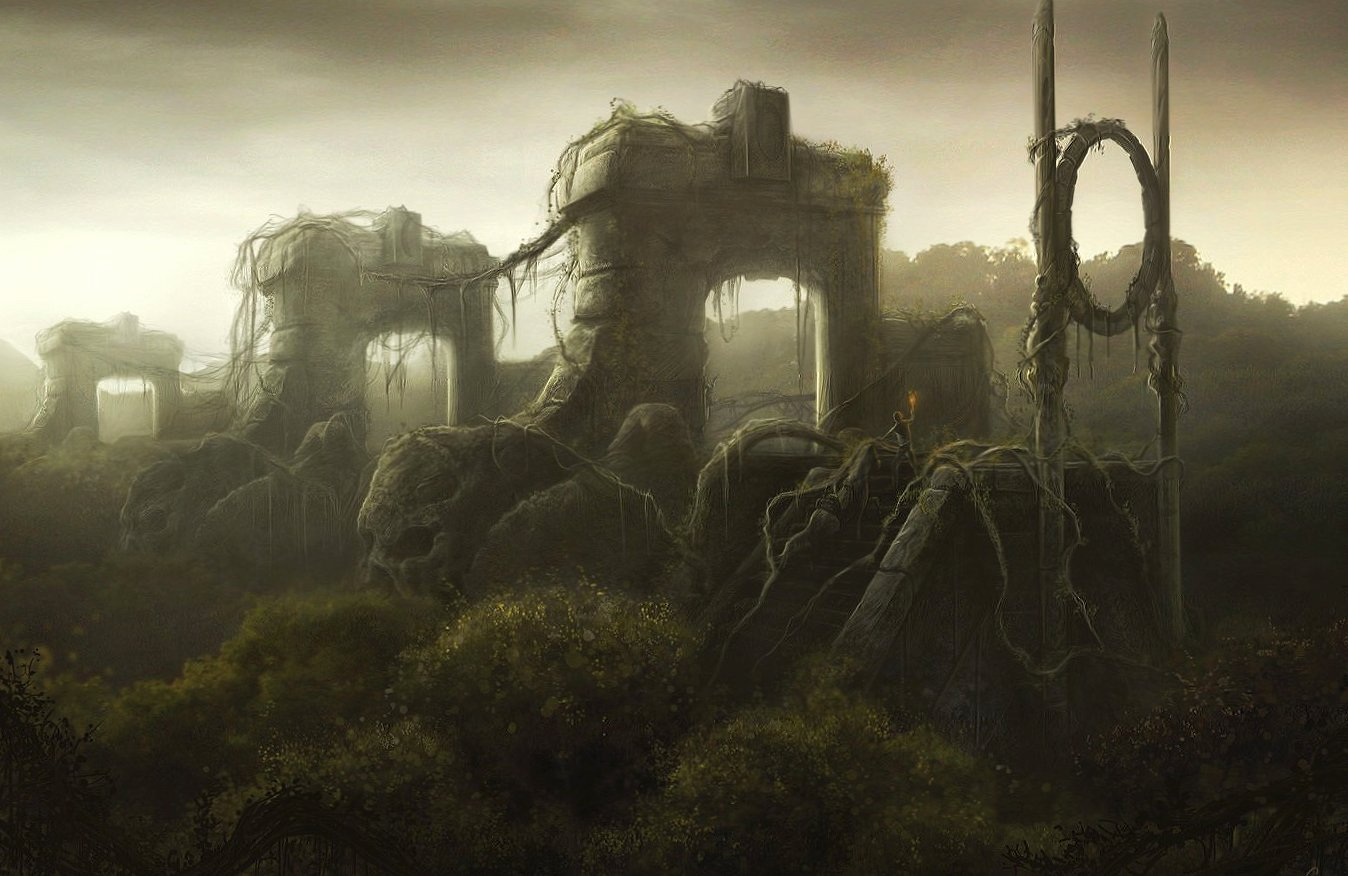 Disturbing ruines wallpapers HD quality