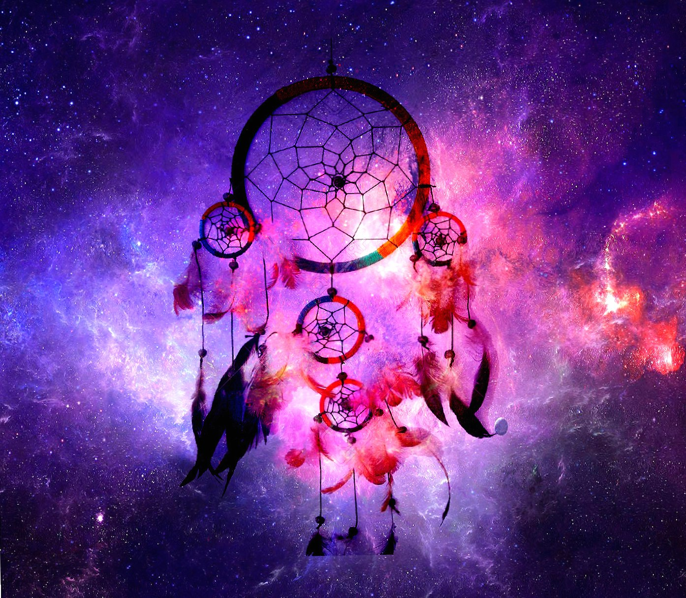 dreamcatcher space wallpapers HD quality