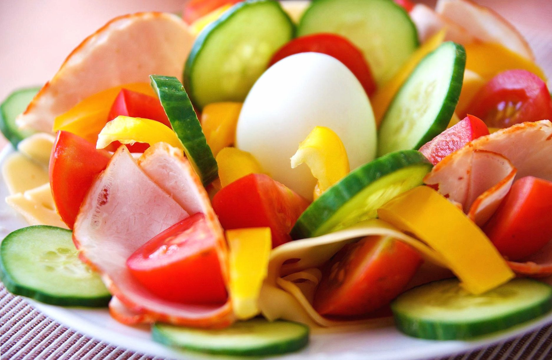 Egg and vegetables wallpapers HD quality