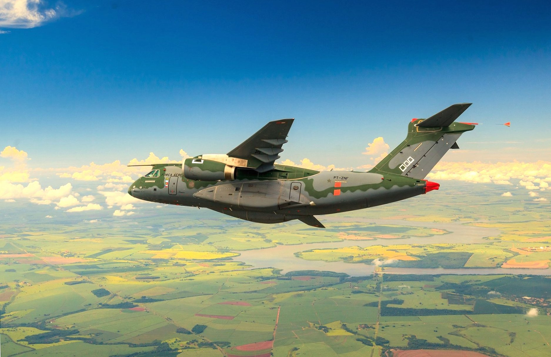 Embraer KC-390 wallpapers HD quality