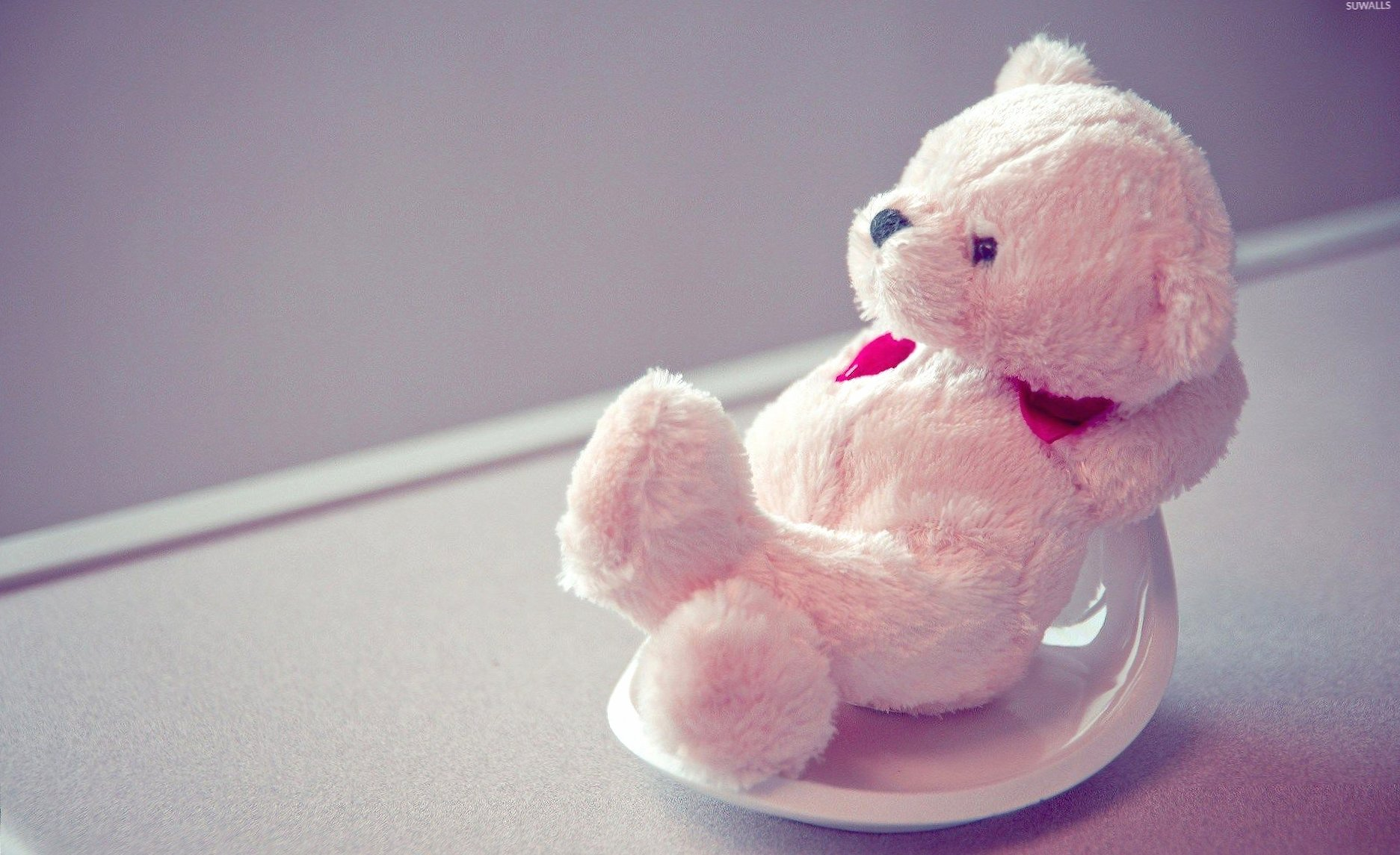 Fluffy teddy bear relaxing wallpapers HD quality