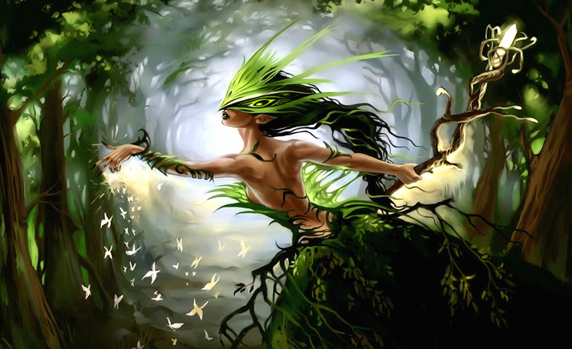 Forest fairy wallpapers HD quality