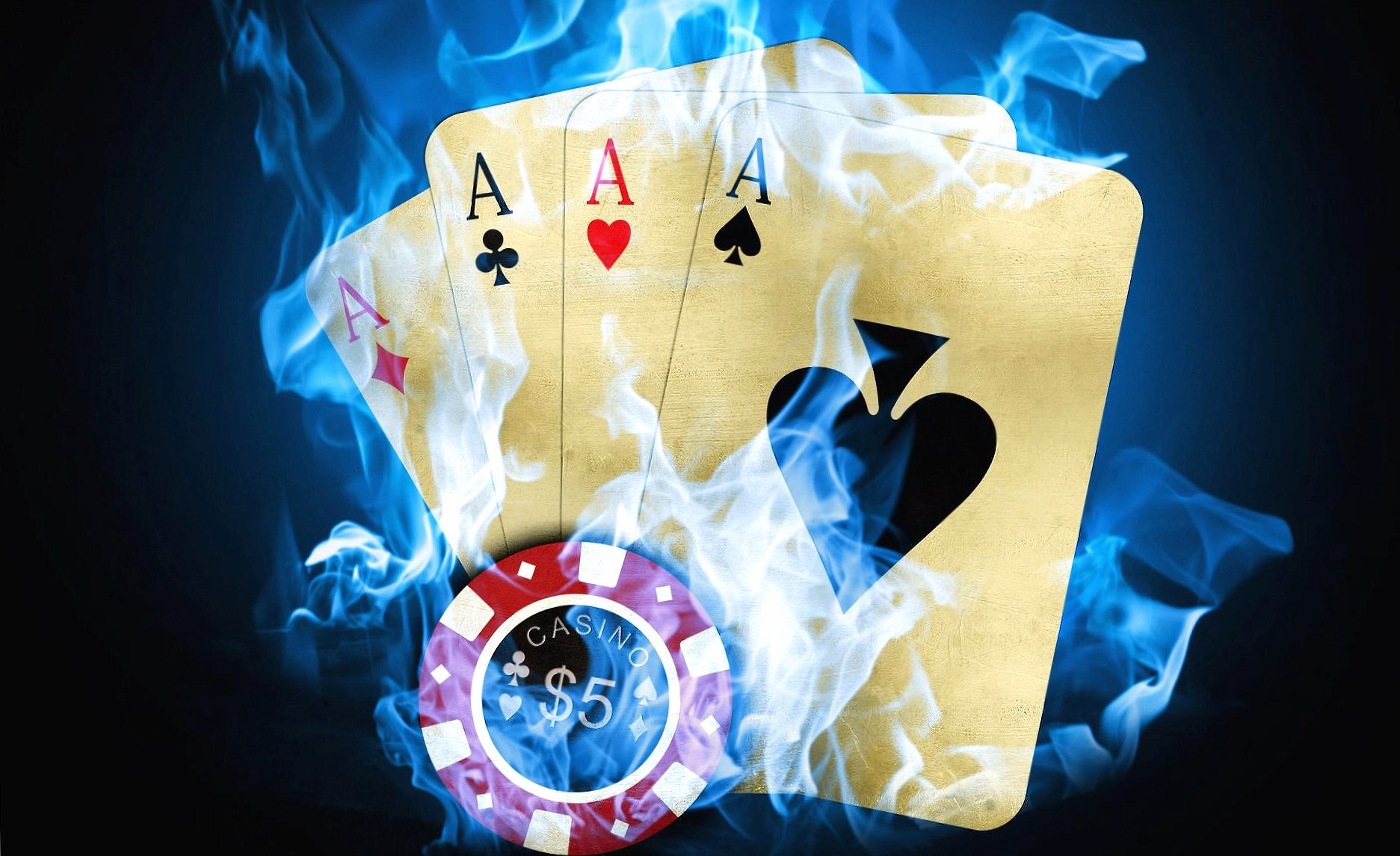 Four axes poker fiche casino digital wallpapers HD quality