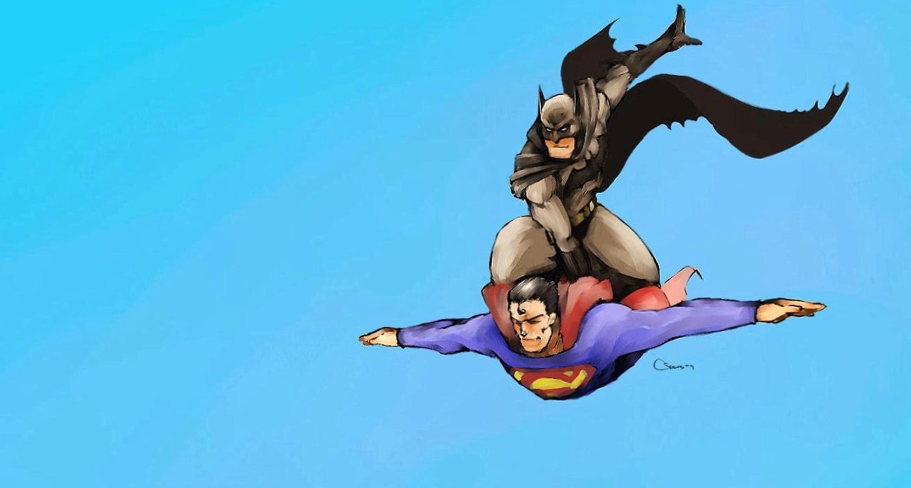 funny batman asks for a passage to superman wallpapers HD quality