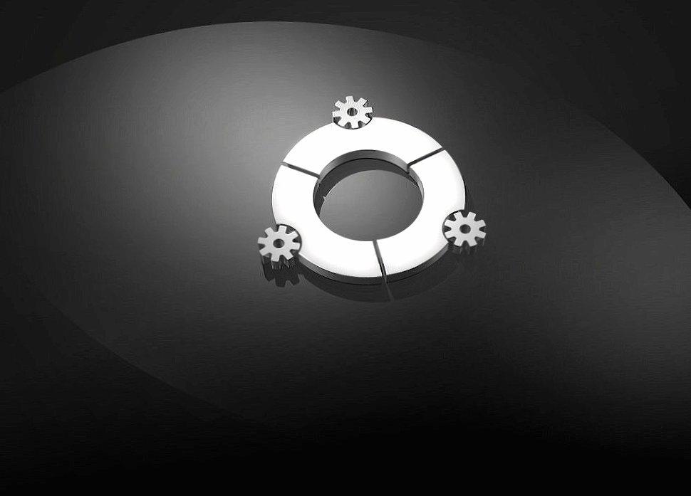 Gears dark ubuntu wallpapers HD quality