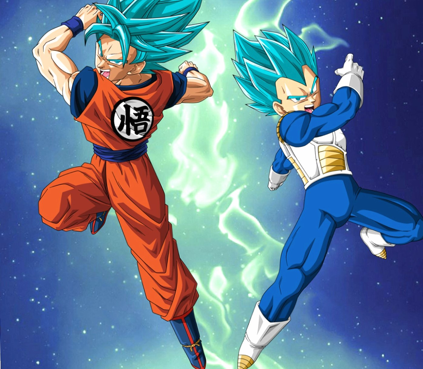 Goku and Vegeta wallpapers HD quality