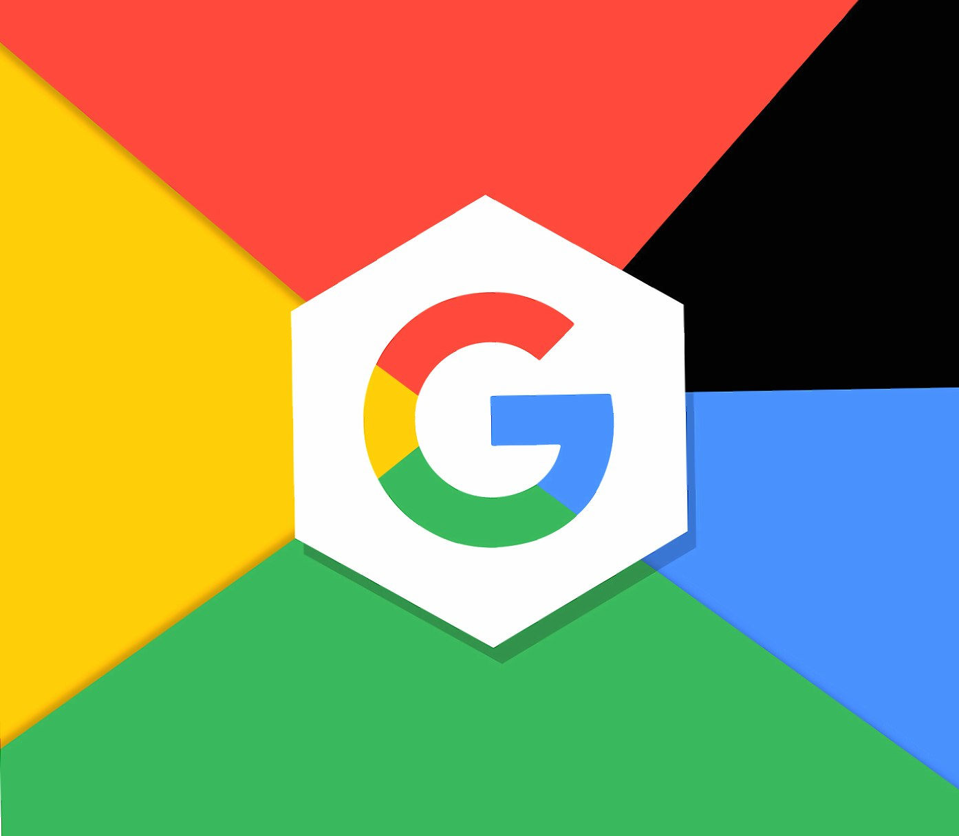 Google hexagonal wallpapers HD quality