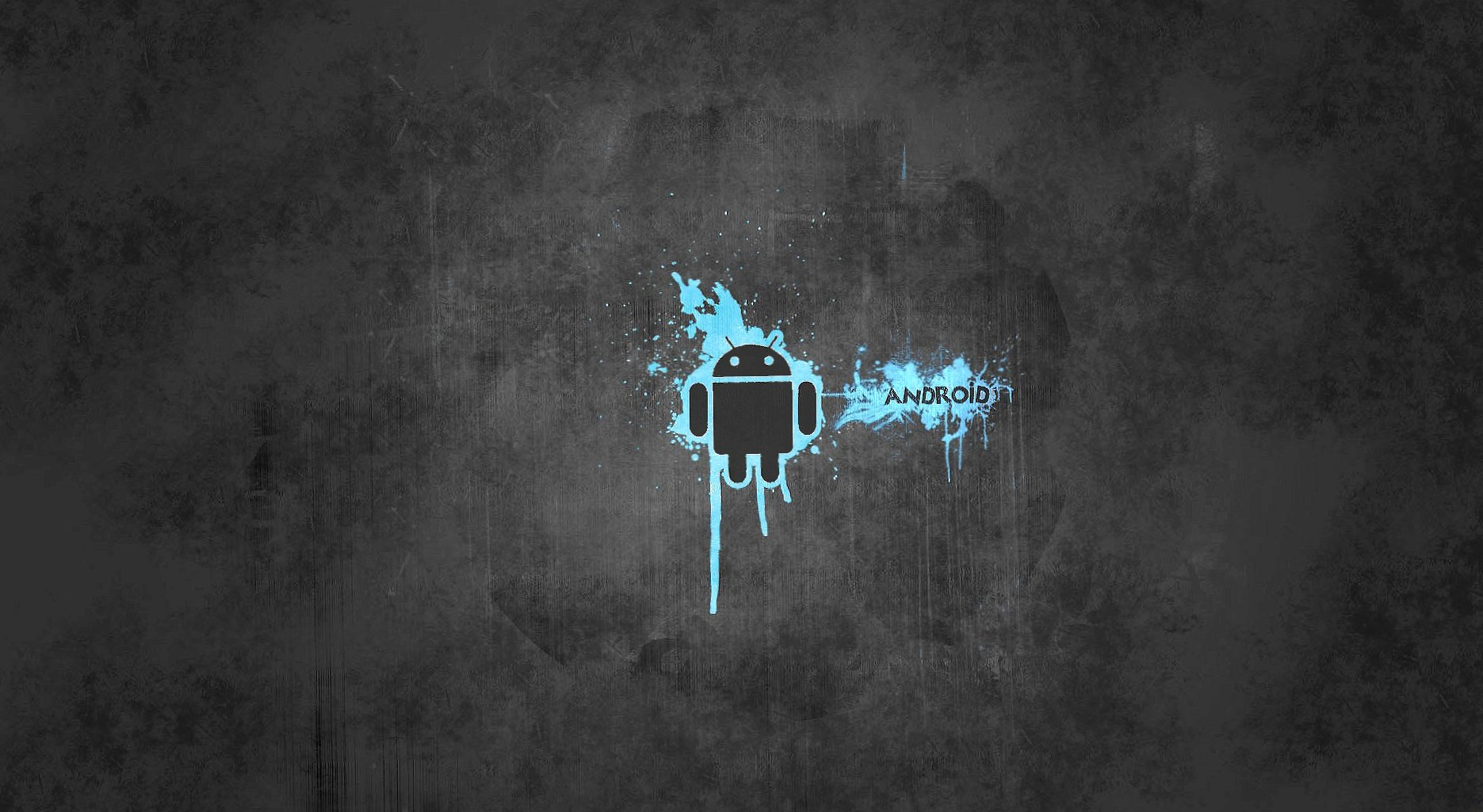 Gray and blue android wallpapers HD quality