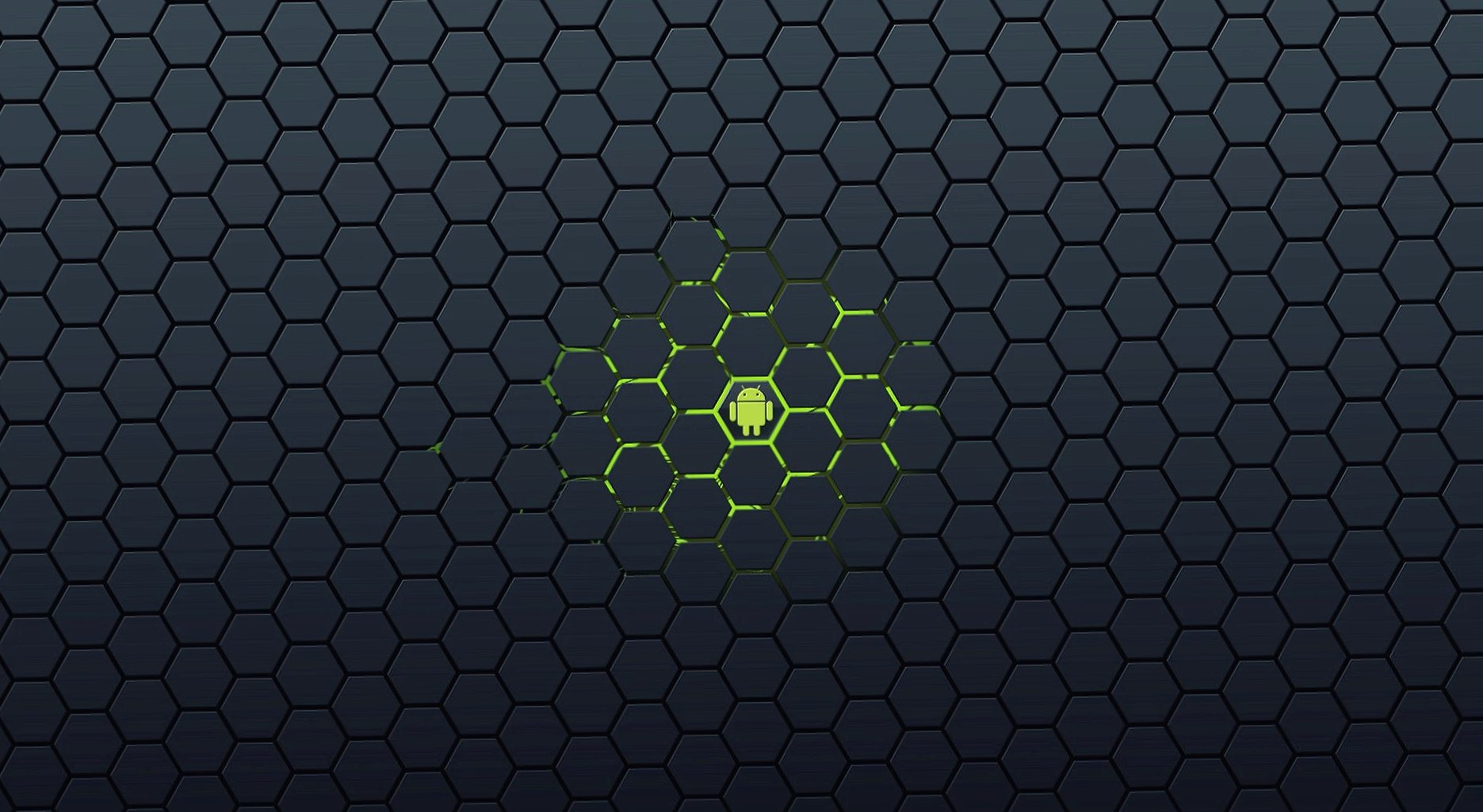 Hexagonal android wallpapers HD quality