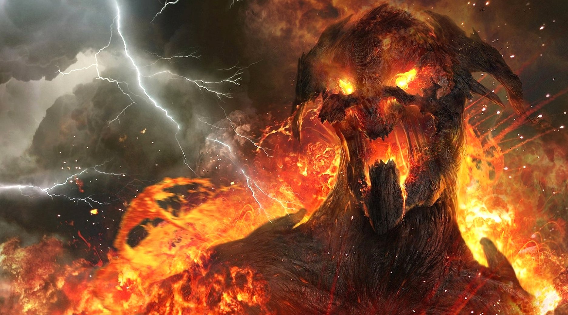 Hot lava creature wallpapers HD quality