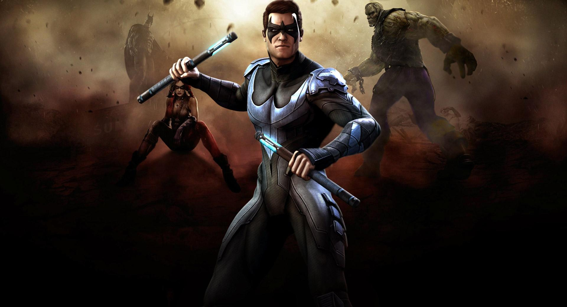 Injustice Gods Among Us - Nightwing wallpapers HD quality