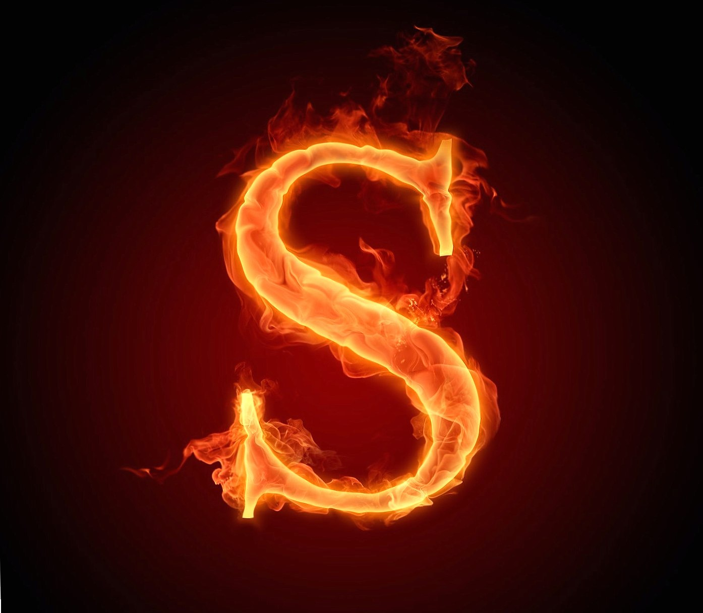 Letter S In Fire Hd wallpapers HD quality