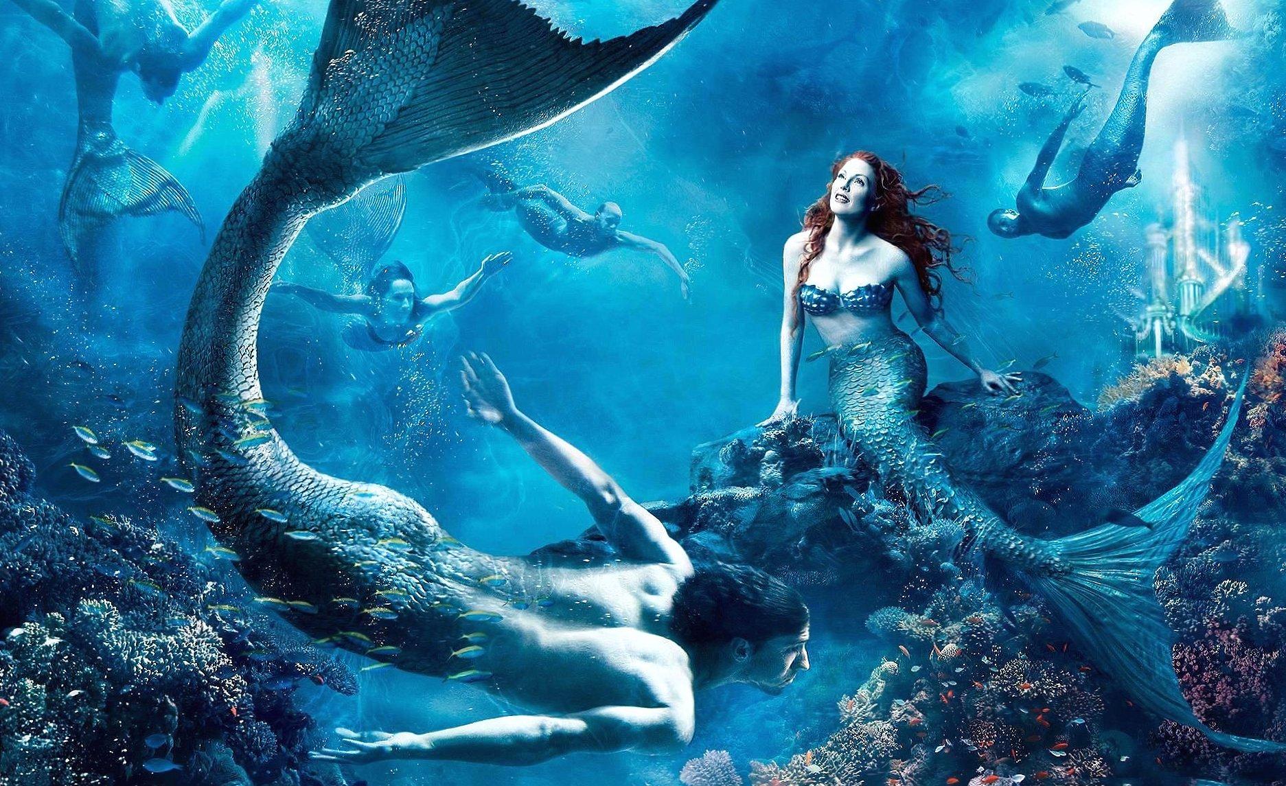 Mermaid city wallpapers HD quality