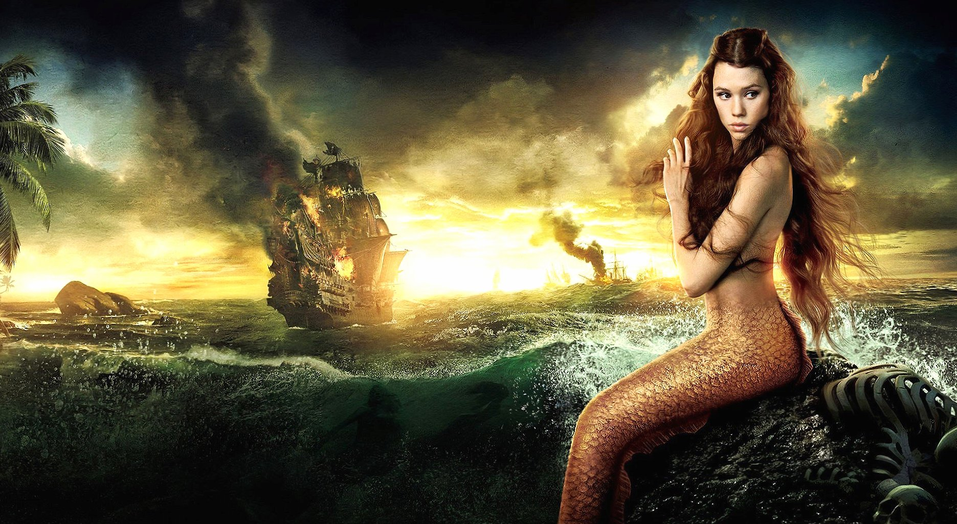 Mermaid fantasy wallpapers HD quality