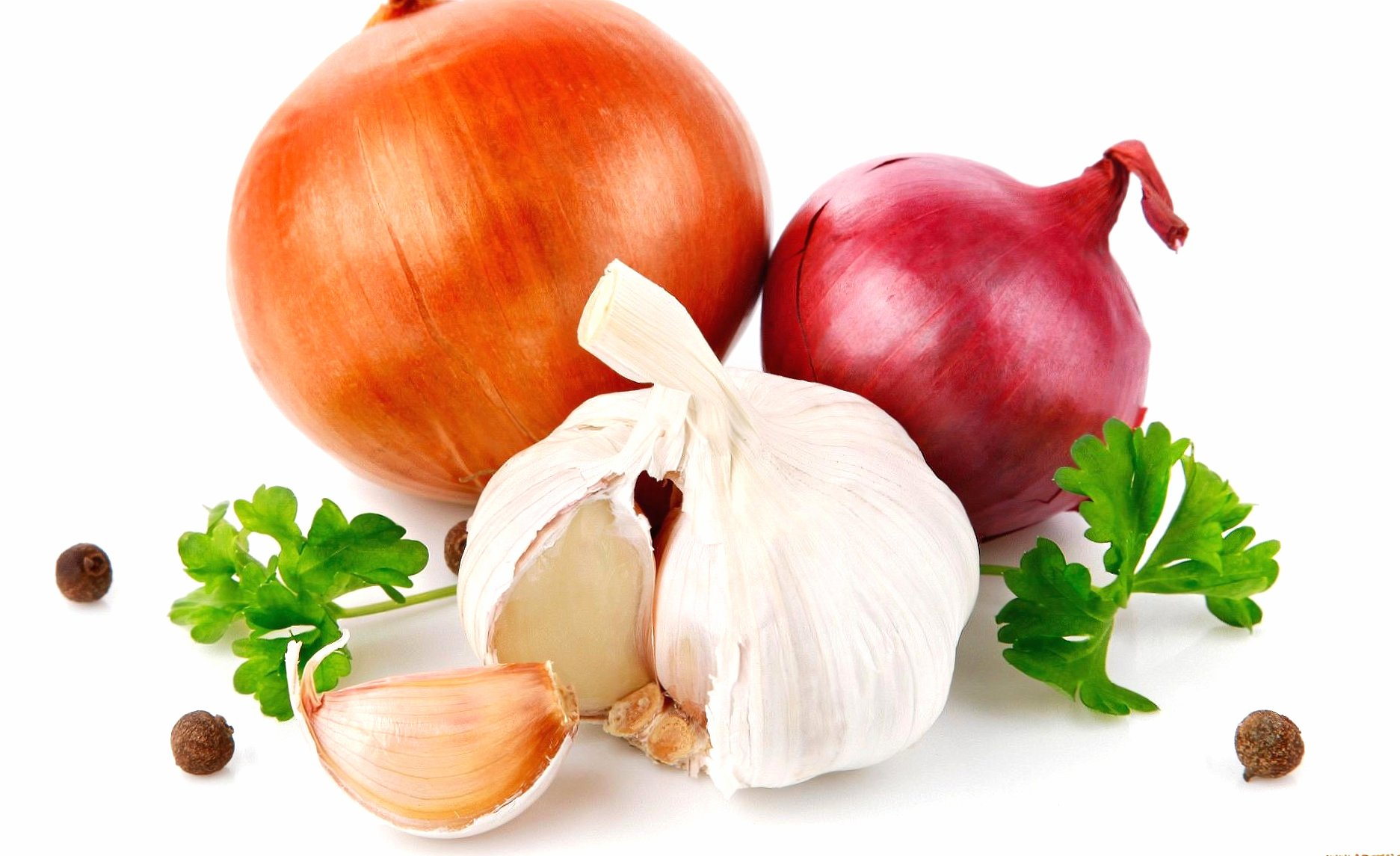 Onions and garlic wallpapers HD quality
