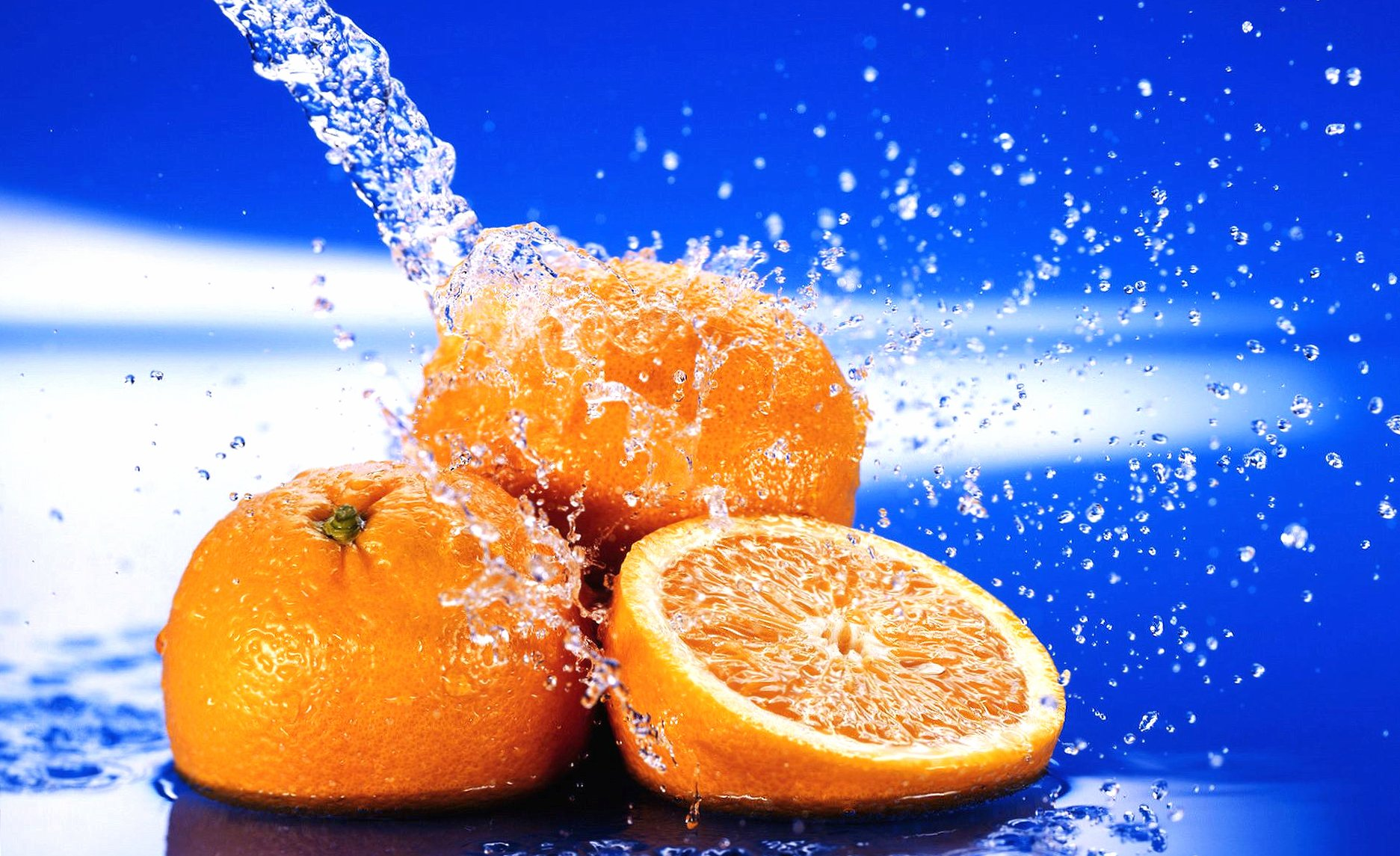 orange and water wallpapers HD quality