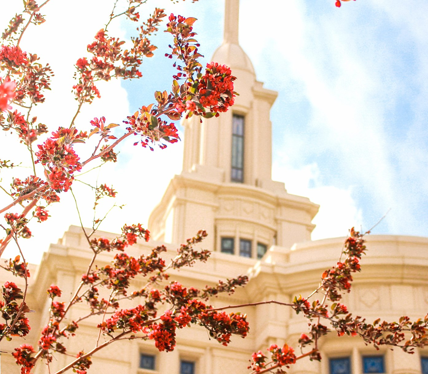 Payson Utah Temple wallpapers HD quality