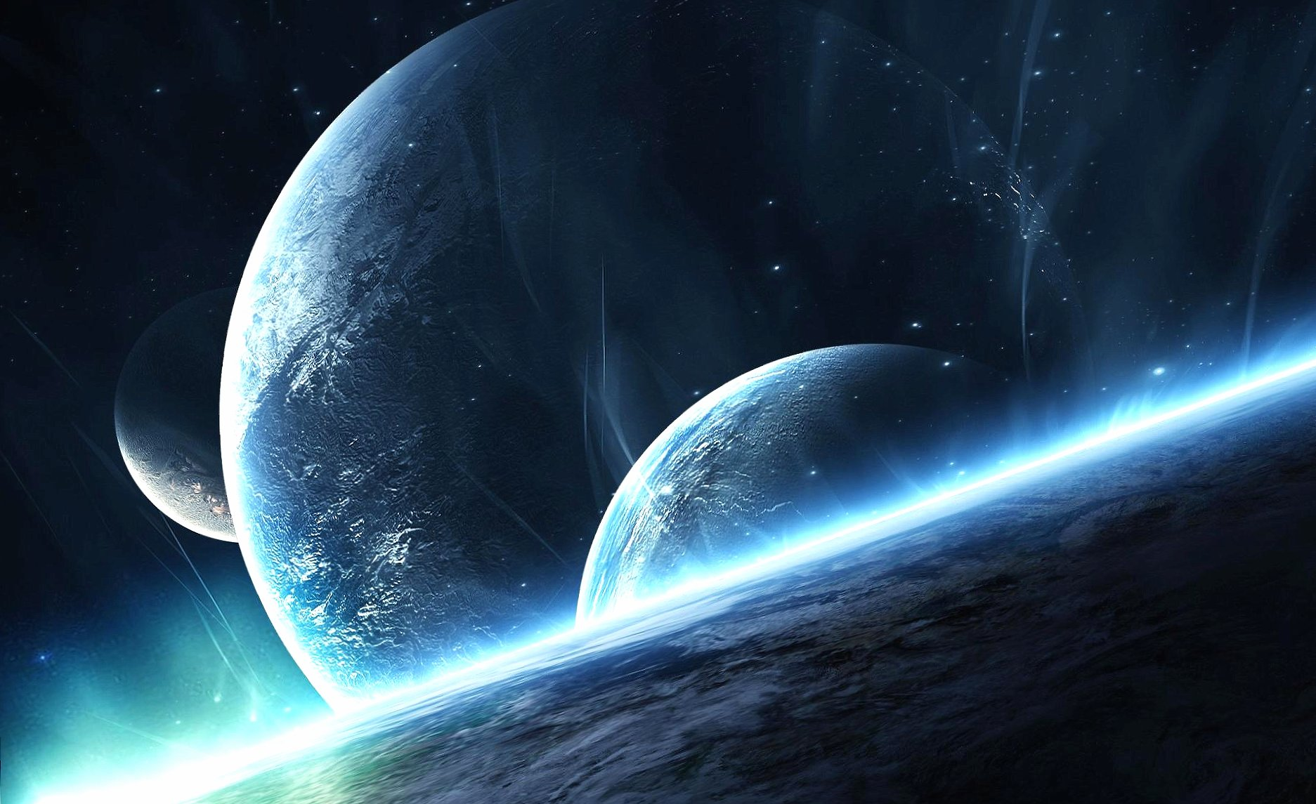 Planet system wallpapers HD quality