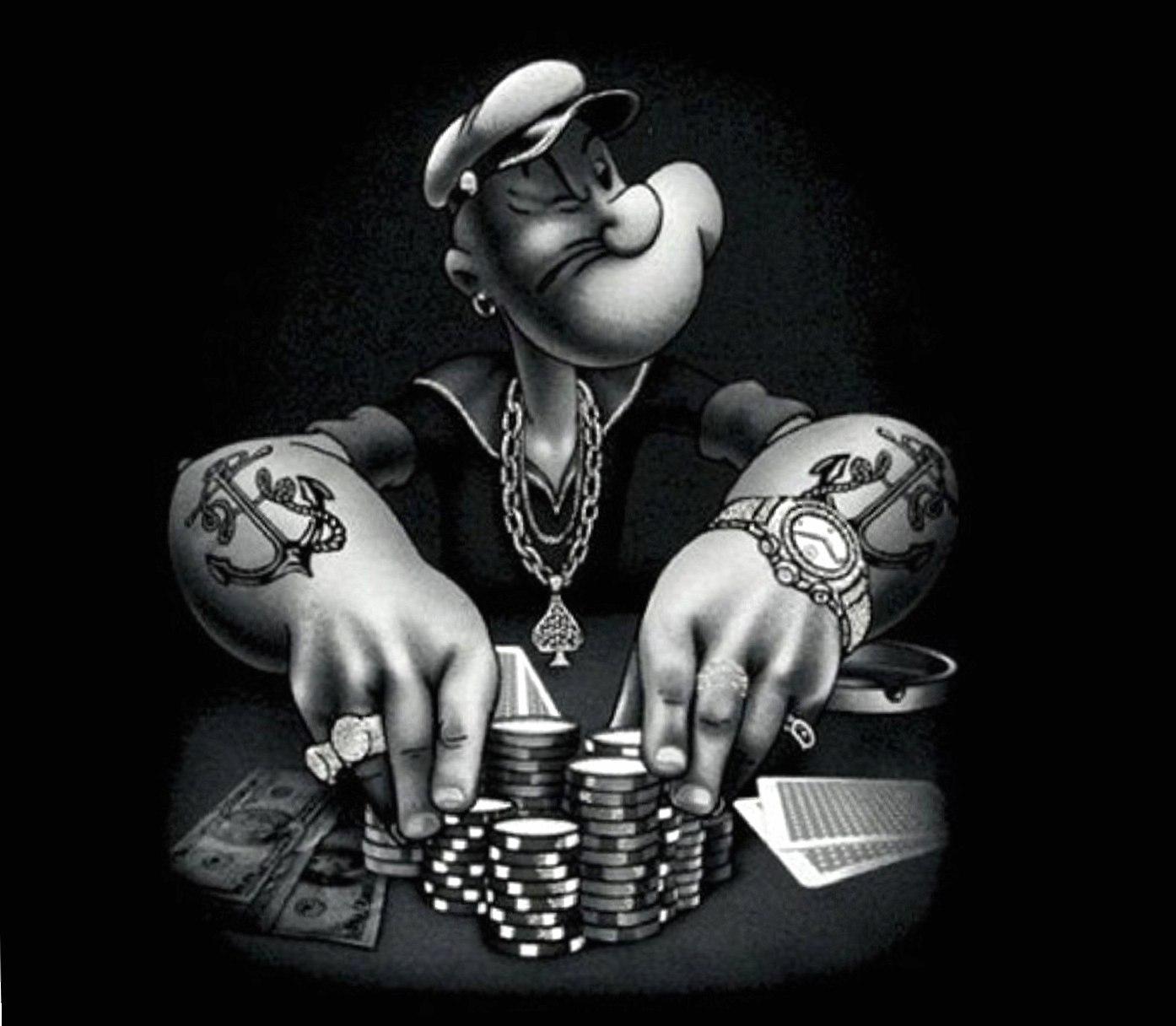 Poker Popeye wallpapers HD quality