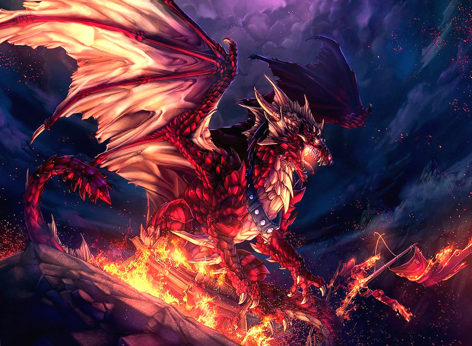 Red dragon wallpapers HD quality