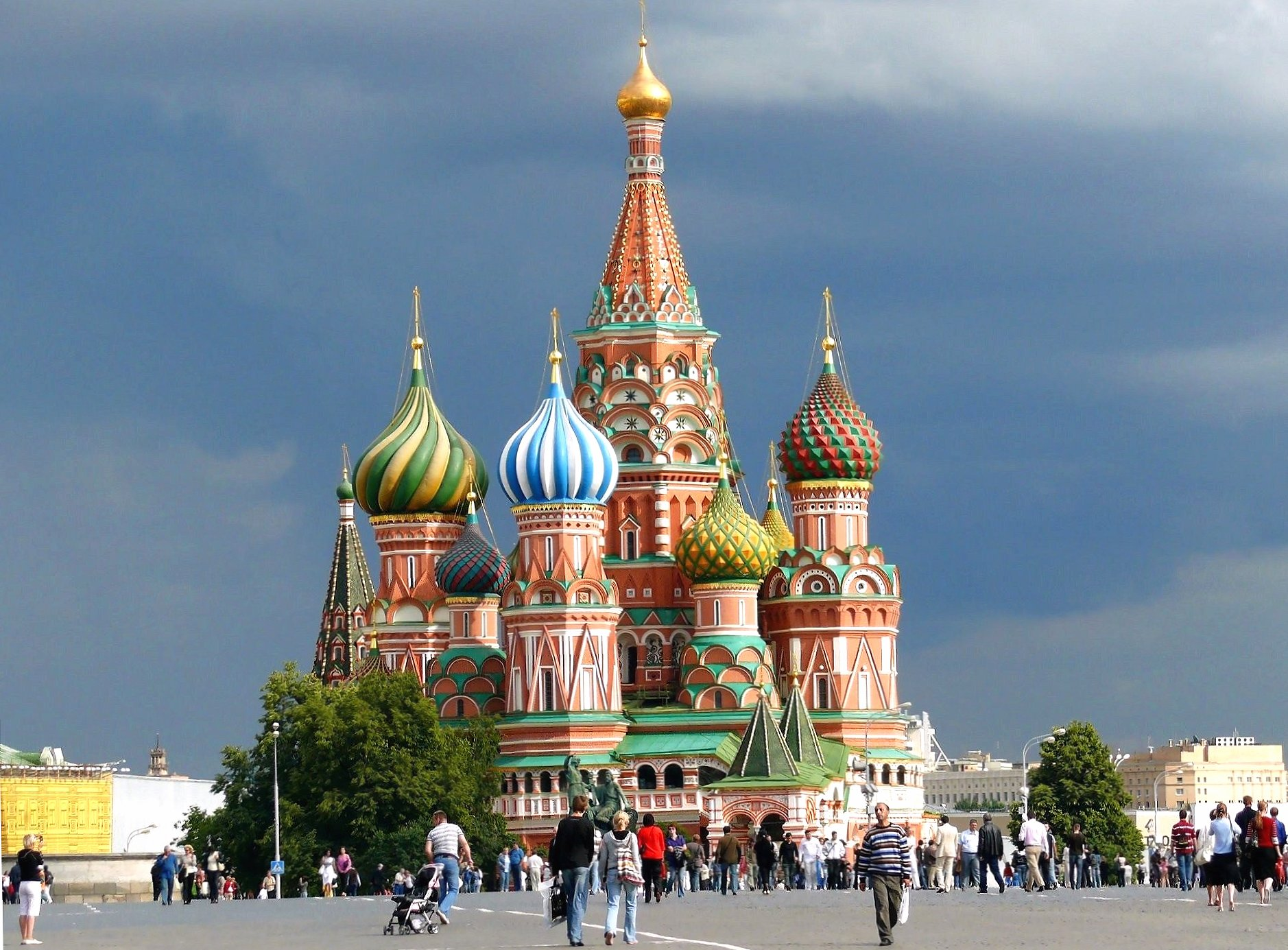 Red square moscow saint basils cathedral wallpapers HD quality
