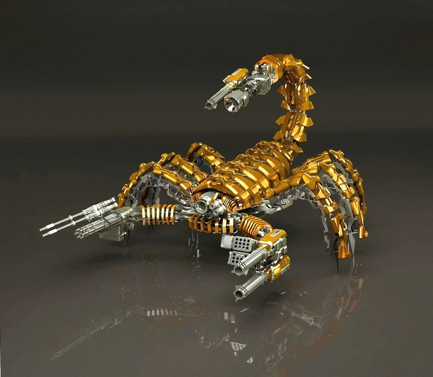Robotic Scorpion wallpapers HD quality