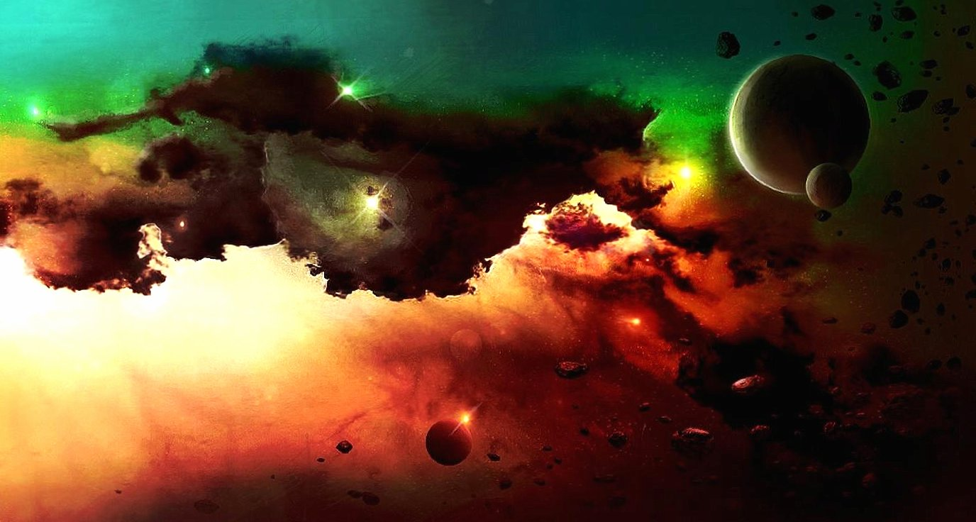 Space clouds wallpapers HD quality